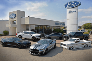 Kitchener Ford Photo Shoot with Performance Vehicles